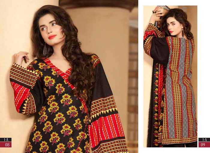 Khaddar shawl collection 2014-2015 by Shariq Textile (1)