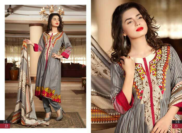 Khaddar shawl collection 2014-2015 by Shariq Textile (2)