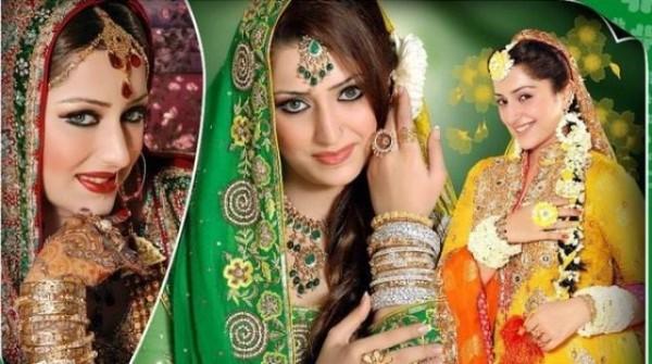 Mehndi Dresses For Pakistani Stylish Girls (4)