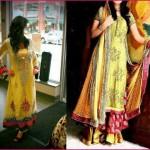 Mehndi Dresses 2014 For Pakistani Stylish Girls (2)