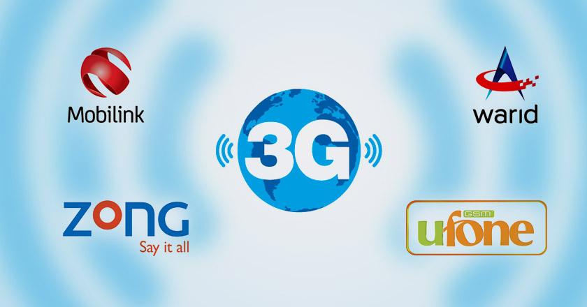 All Networks 3G Internet Packages Details