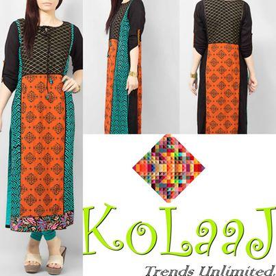 Kolaaj Kurta Collection 2014