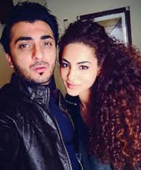 Annie Khalid With Saad Khan Pics