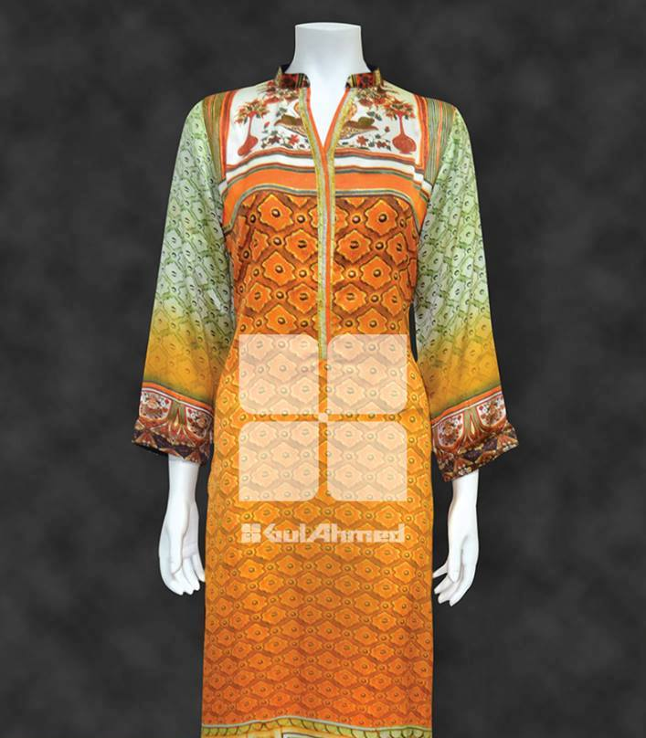 gul ahmad latest kurta collection