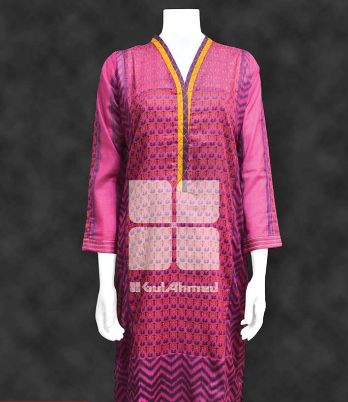 pink colour kurta collection for girls