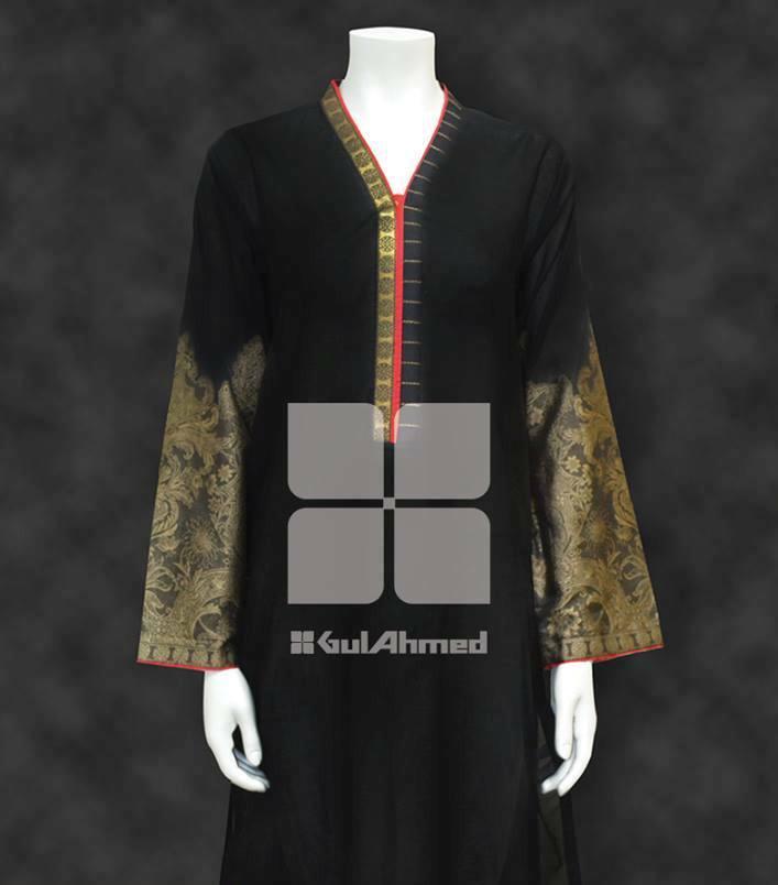 random colour kurta collection by gul ahmad textiles