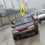 amazing & funny way to wash car screen