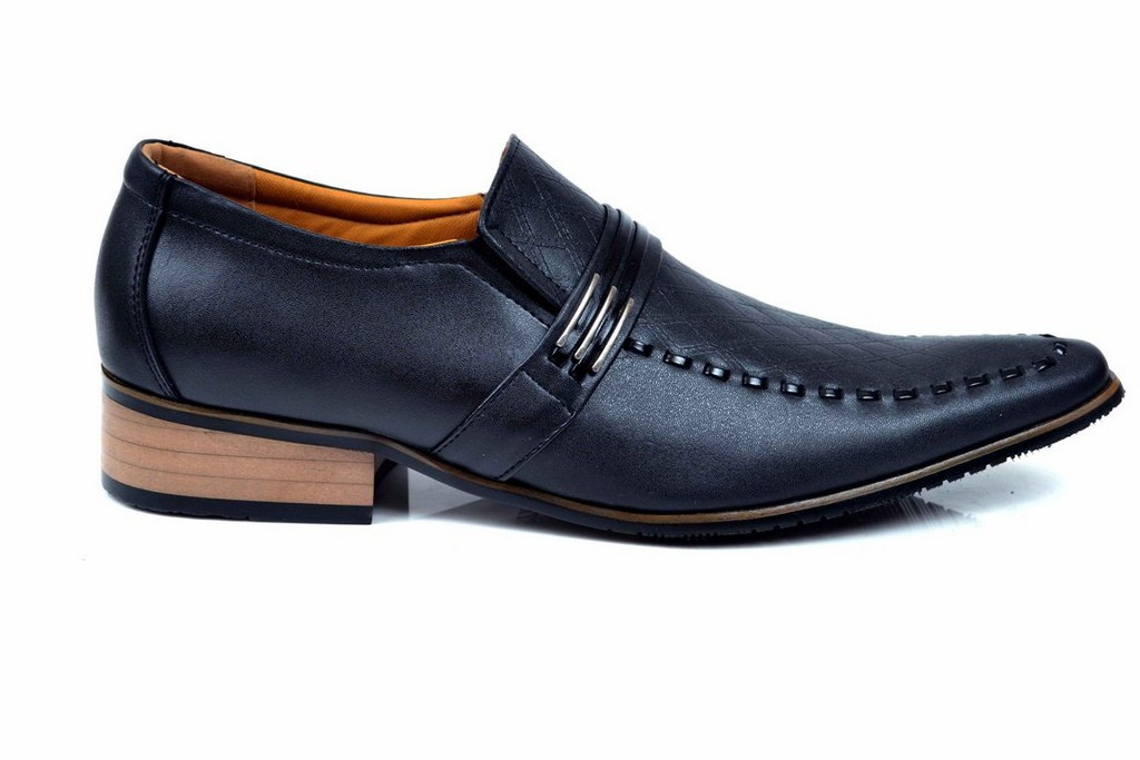 black & brown colour shoes for men