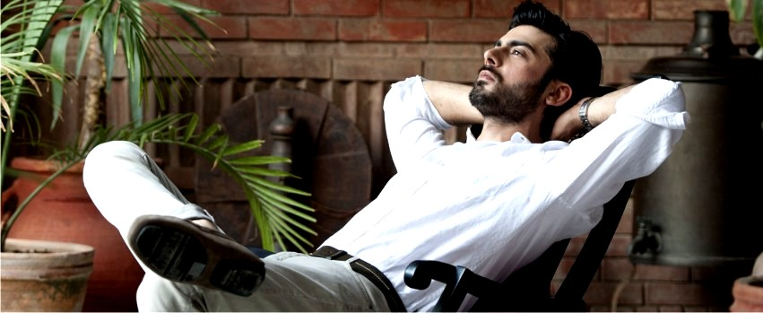 fawad afzal khan as a model