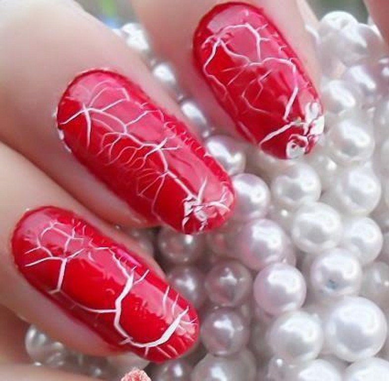 pink colour nails & Nails art