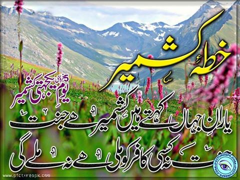 kashmir day poetry