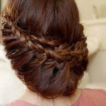 round hair styles for girls