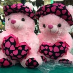 pink teddy bear gift for girls