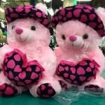 pink teddy bear gift for girls
