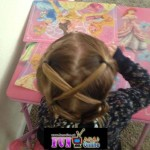 princess hairstyles for little cute girls