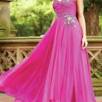 pink colour dress for girls on valentine day