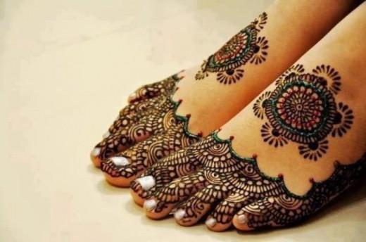 foot mehndi designs 2015 latest