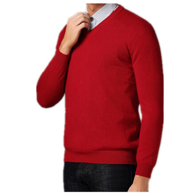 men sweater in red colour