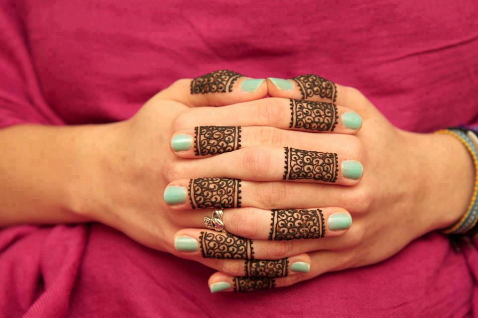 henna mehndi desings for fingers