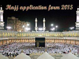 HAJJ-application forms
