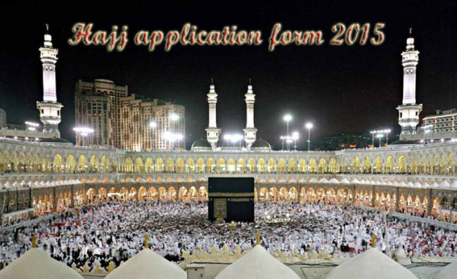 HAJJ-application forms