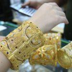 Jewellery at gold souq in Dubai