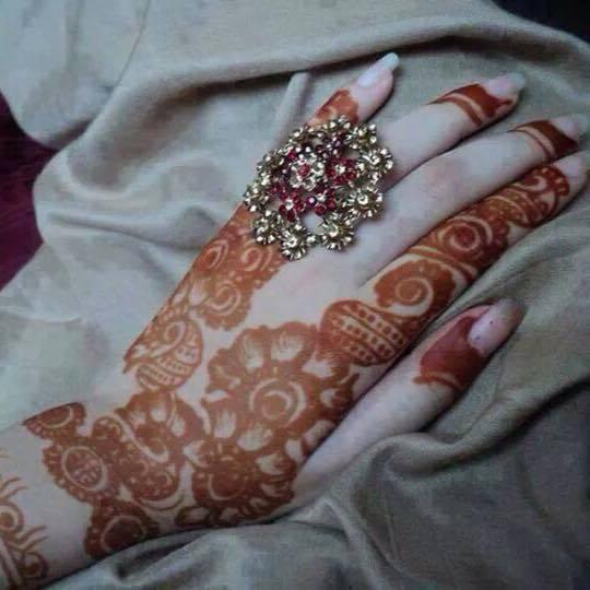 arabic latest mehndi designs