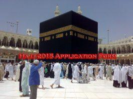 hajj application form 2015