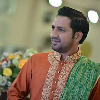 sarfaraz ahmad wedding images