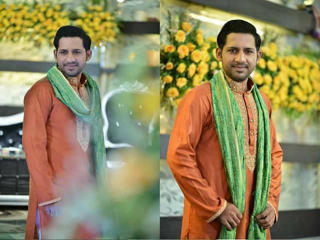 sarfaraz ahmad marriage photos