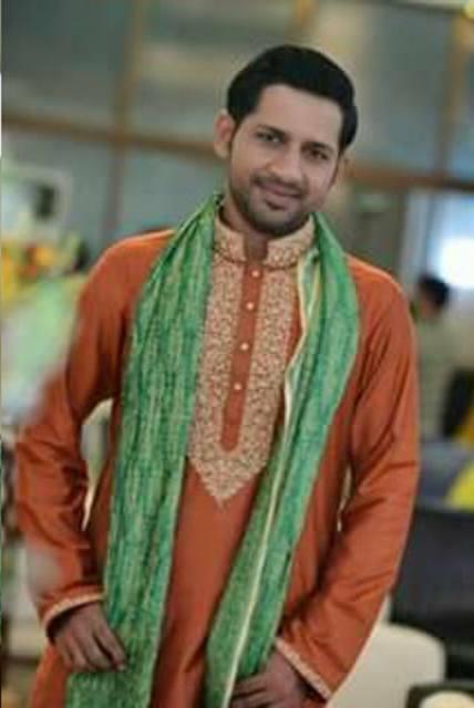 sarfaraz ahmad marriage images