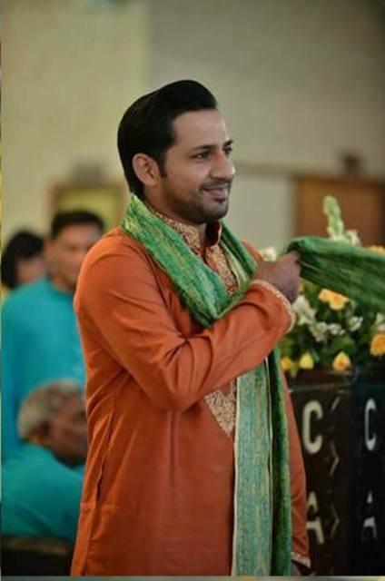 sarfaraz ahmad got married