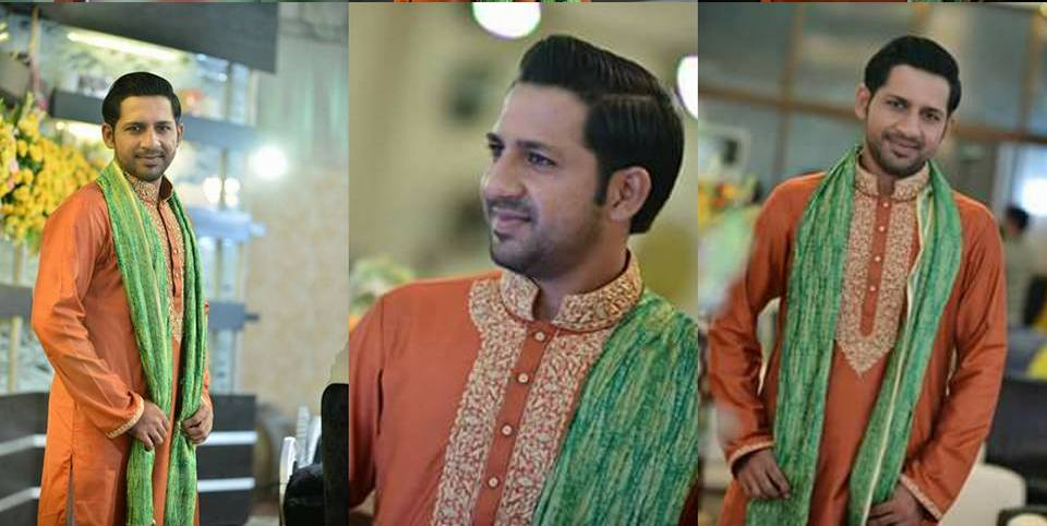 sarfaraz ahmad wedding pics