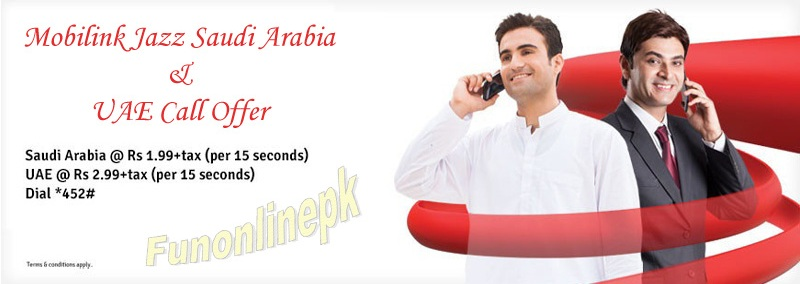 moblink jazz saudi arabia & uae call offer