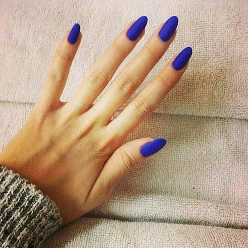 matte blue nails 2015-webstudy.pk