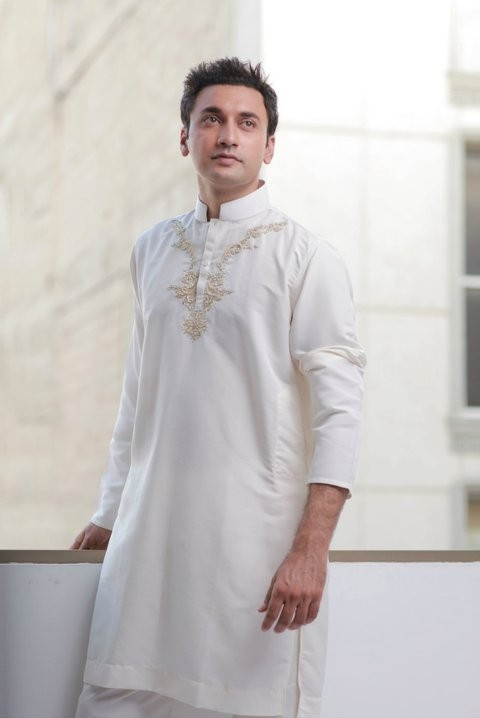 Gul Ahmed EID UL FITR Kurta Collection For MEN-webstudy.pk