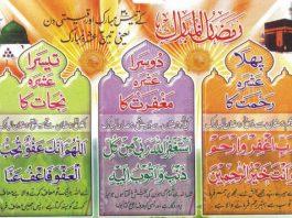 Ramzan ul Mubarak Calander 2015-webstudy.pk