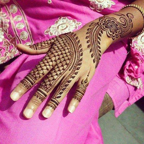 latest mehndi designs 2015 for eid