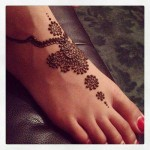 mehndi designs for feet 2015 latest