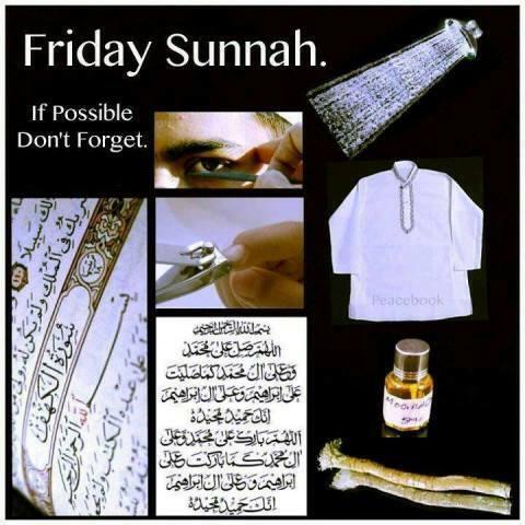 Jumma Mubarak sunah-webstudy.pk