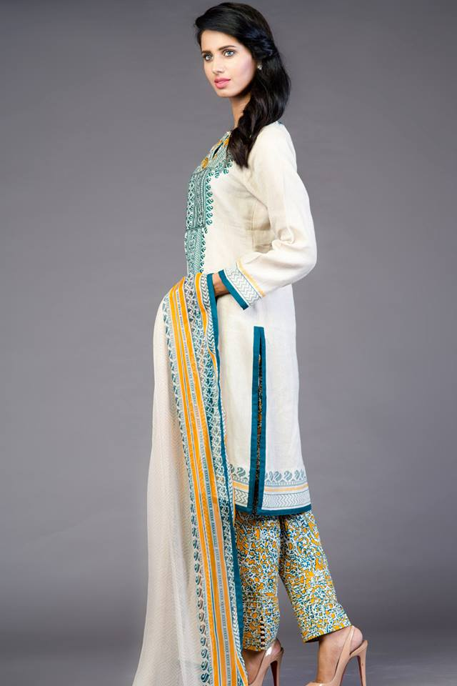 beautiful eid kurtas for girls-webstudy.pk