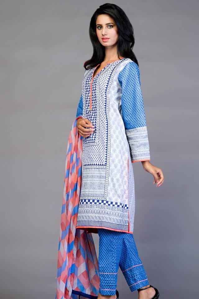 blue kurta design 2015-webstudy.pk