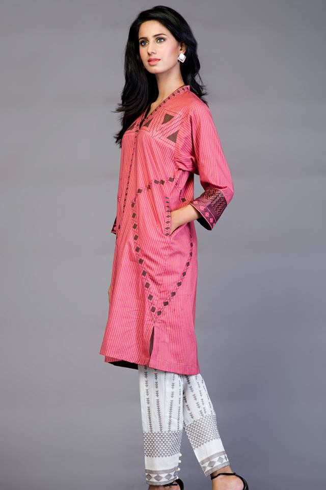 new beautiful stylish eid kurtas for girls-webstudy.pk
