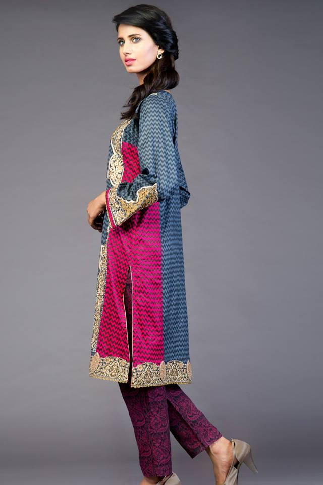 new desing kurta for girls-webstudy.pk