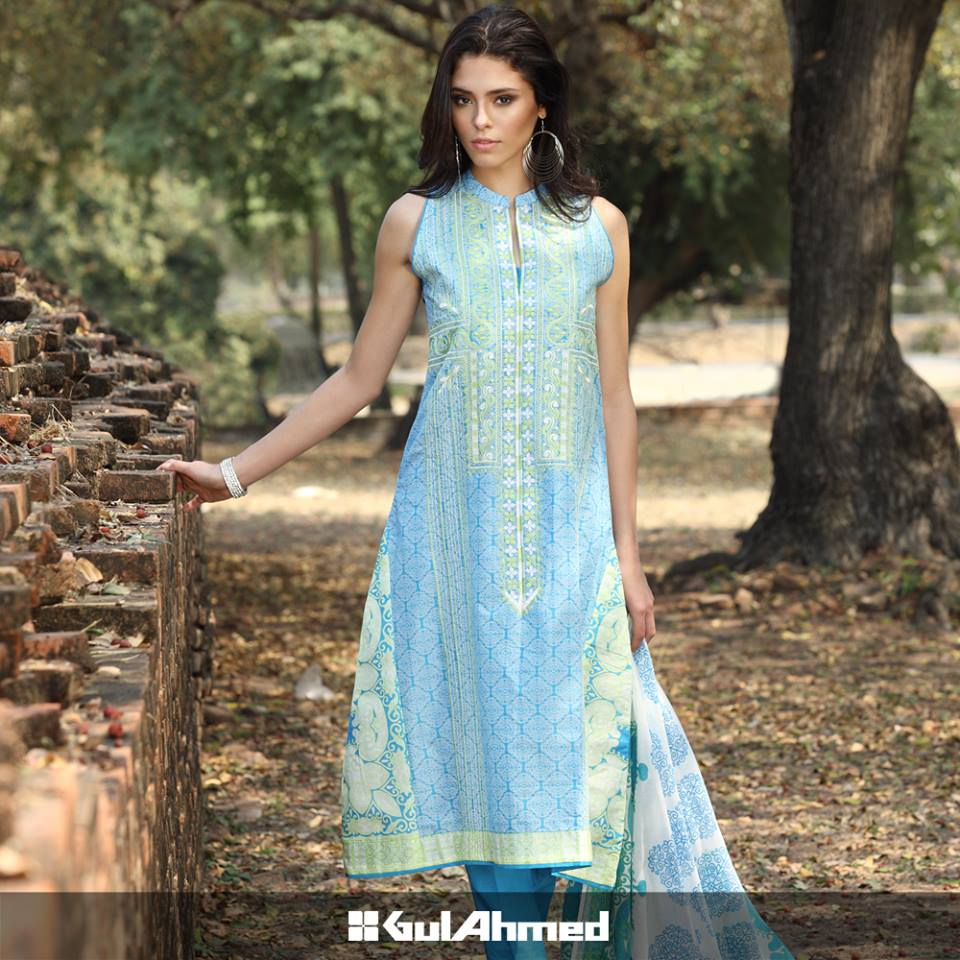 fashion dresses by gul ahmad