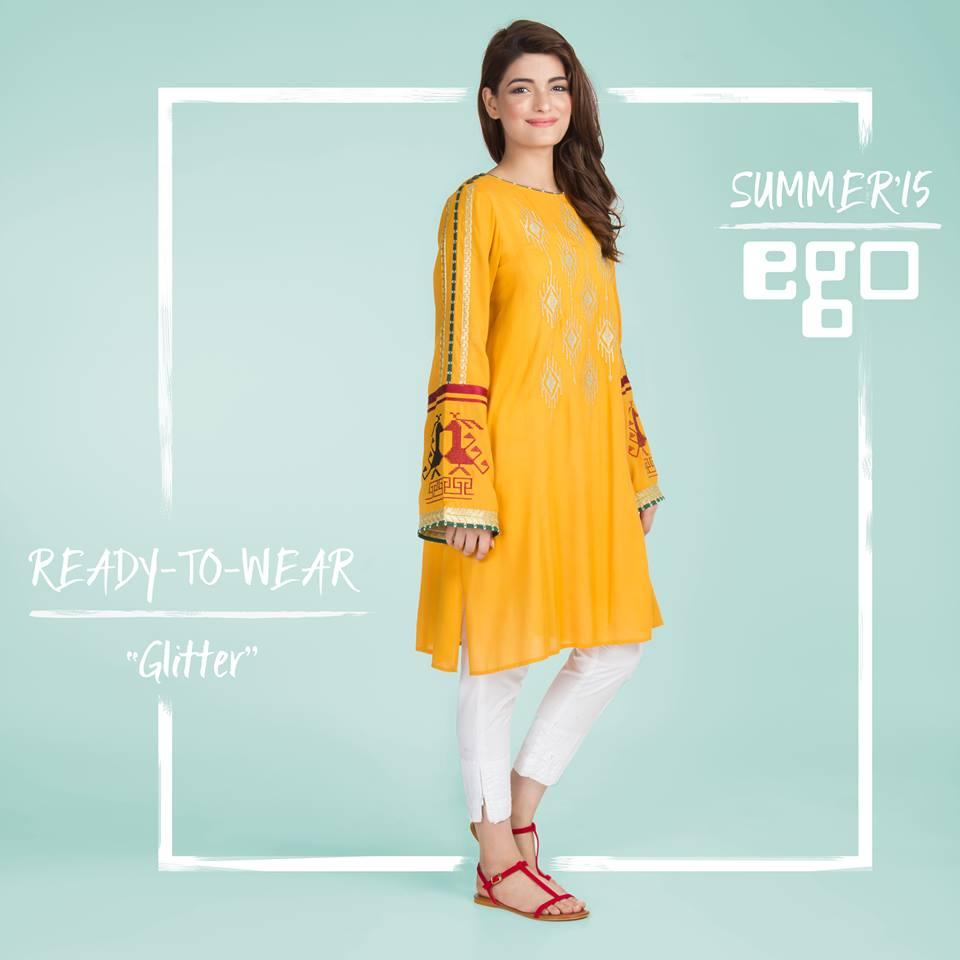 glitter kurta fashion dresses 2015 for girls-webstudy.pk