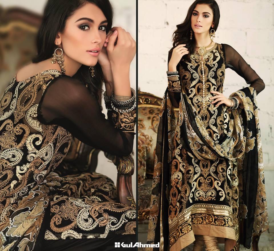 gul ahmad lawn season dresses-webstudy.pk