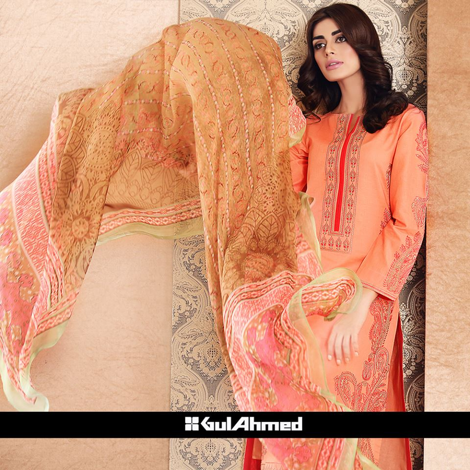 new fashion dresses by gul ahmad-webstudy.pk