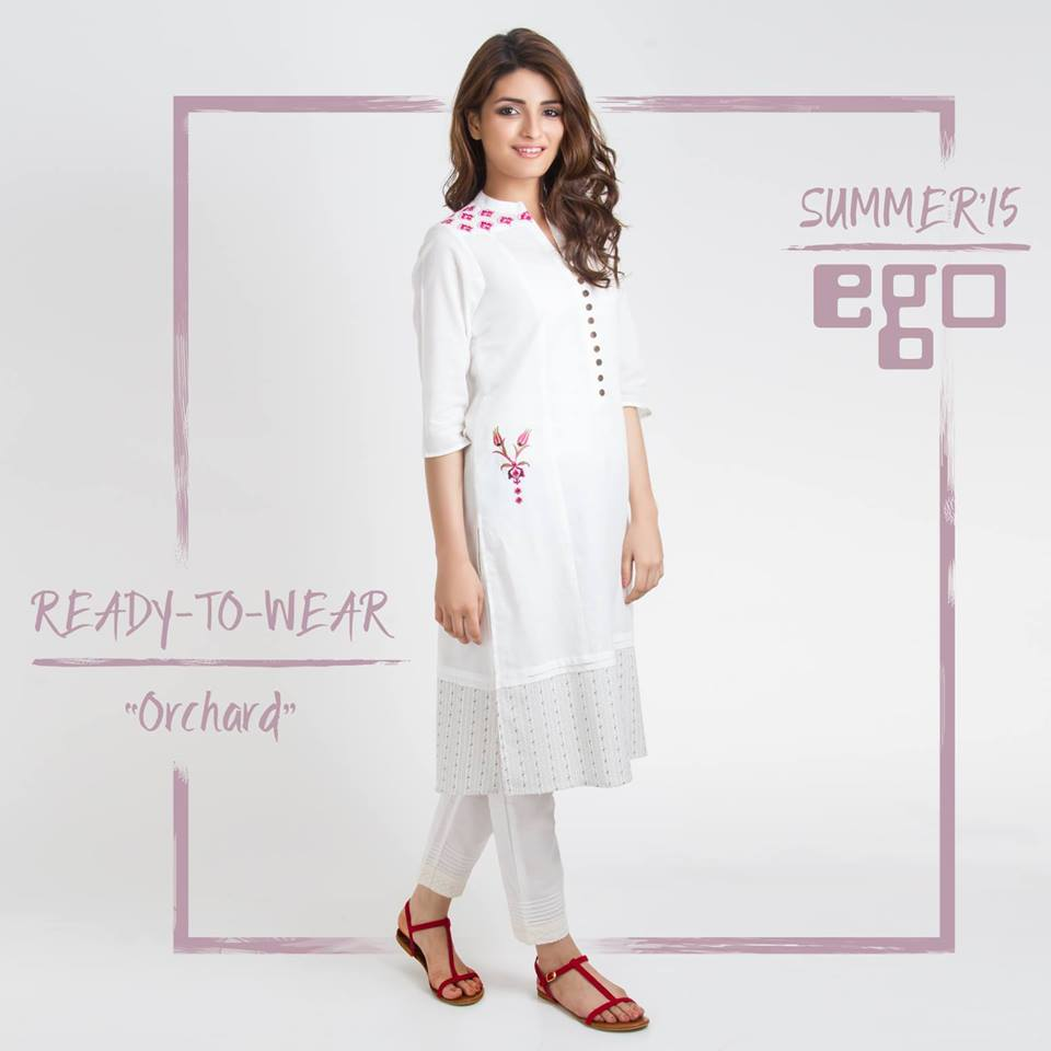 orchad kurta by ego brand for summer 2015-webstudy.pk