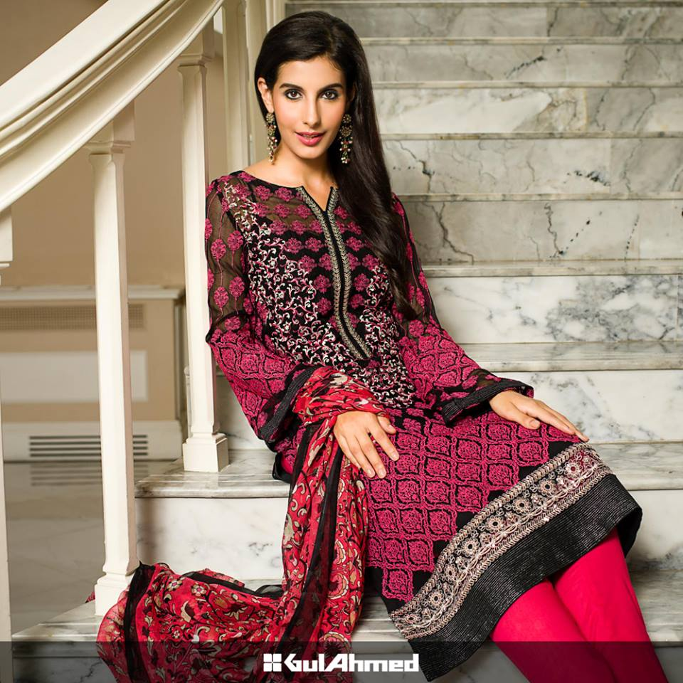 summer season dresses by gul ahmad-webstudy.pk